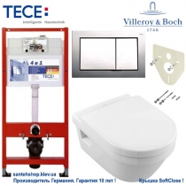 Комплект Tece, Villeroy&Boch